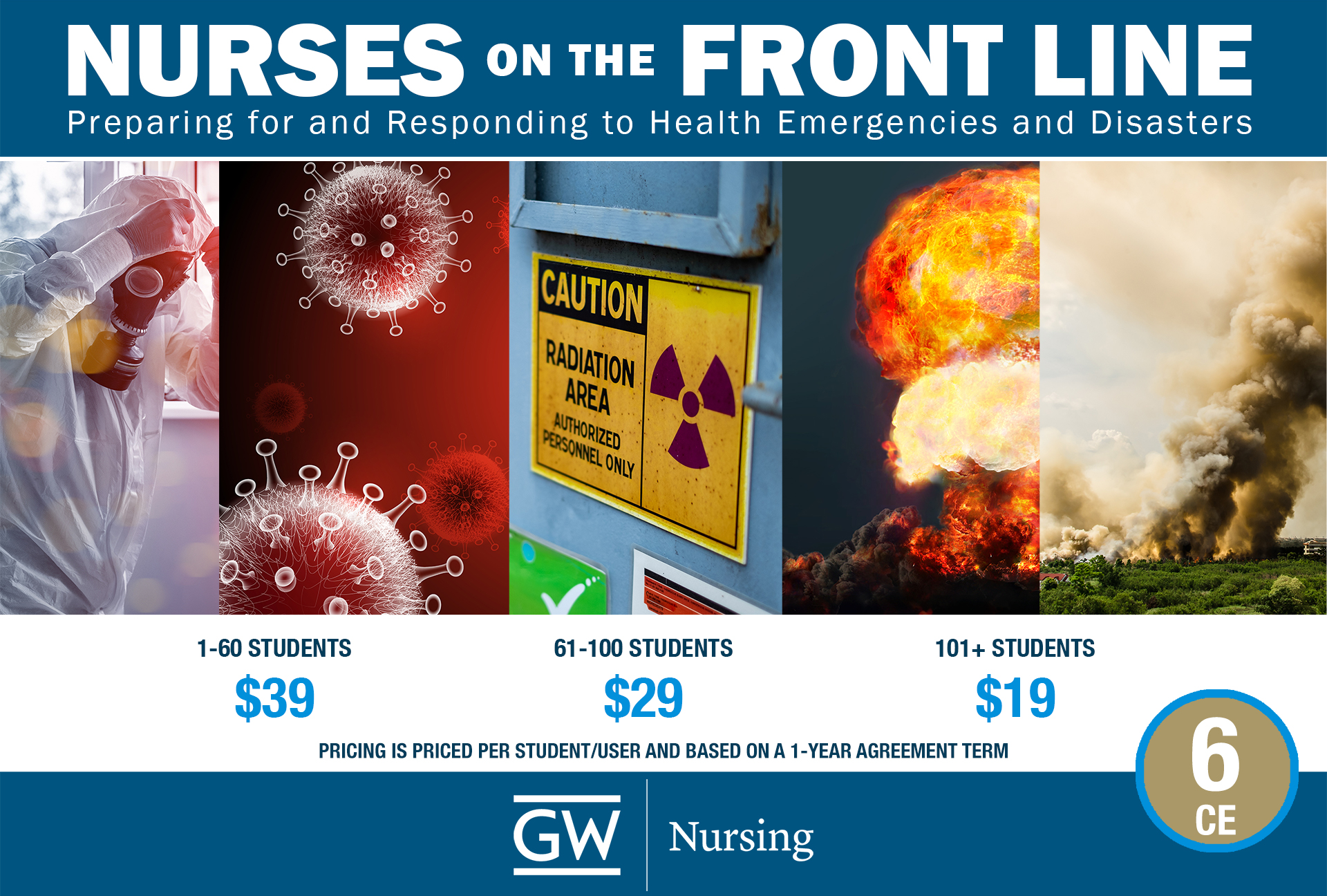 Nurses on the Front Line: Preparing for and Responding to Health Emergencies and Disasters